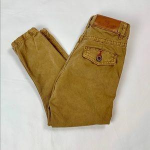 NWT Zara tan jeans